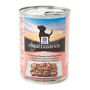 Hill's Ideal Balance Comida hmeda para perros con salmn y verduras