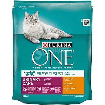Purina One Menú Gato Tracto Urinario Saludable Rico en Pollo 800 g