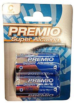 Premio Pila super alcalina c LR14 Paquete 2 u