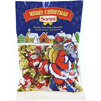 C.F.V. Sorini Merry Christmast Bombones de chocolate con leche Bolsa 200 g
