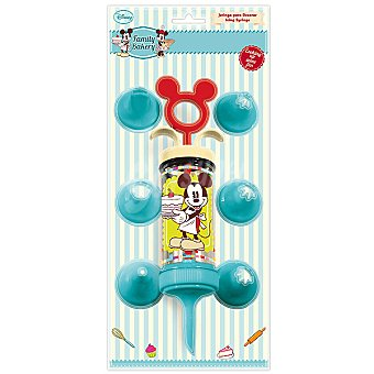 DISNEY Family Bakery Jeringa para decorar Mickey con 7 boquillas