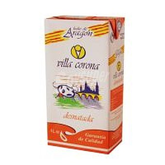VILLACORONA Leche Desnatada Brik 1 litro