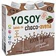 Bebida de choco-avena pack 3x250 ml Yosoy