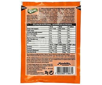Tang Preparado en polvo para refresco sabor naranja 30 g