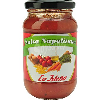 La Isleña Salsa napolitana Frasco 260 g