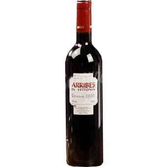 ARRIBES DE VETTONIA Vino tinto reserva Botella 75 cl