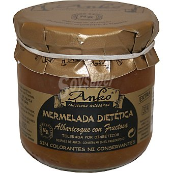 Anko Mermelada de albaricoque sin azucar añadido Envase 340 g