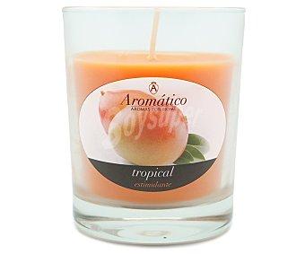 AMBIENT AIR Vela en vaso perfumada con olor a mango de 8 centímetros 1 unidad