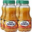 Néctar de melocotón Pack 4 envase 200 ml Don Simón