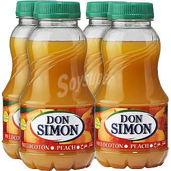 DON SIMON Nectar de melocoton  pack 4 envase 200 ml