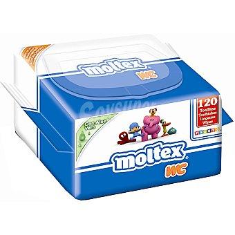 Moltex Toallitas Aloe Vera Soft Wc Envase 120 unidades