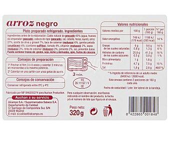 Auchan Arroz Negro 350 Gramos
