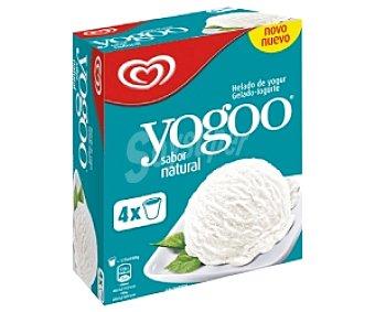 YOGOO Helado de yogur natural 125 Mililitros