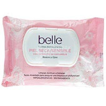 Belle Toallitas piel seca-sensible Paquete 25 unid