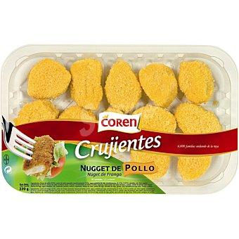 Coren Nuggets crujientes de pollo peso aproximado Bandeja 200 g