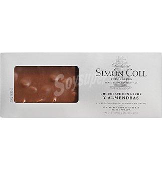 Simón Coll Turron leche-almendra 250 GRS