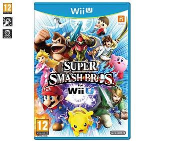 LUCHA Videojuego Super Smash Bros para Wii U. Género: Plataformas, Lucha. Recomendación por edad pegi: +12. 1 Unidad 1 Unidad