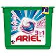 Detergente cápsula 3 en 1 sensaciones 24 dosis Ariel
