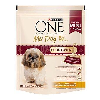 One Purina Comida para perros My Dog is con Pavo 800 gr