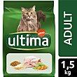 Alimento para gatos adultos sabor pollo Bolsa 1.5 kg Ultima Affinity