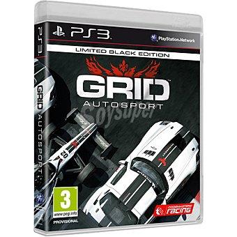 PS3 Videojuego Grid: Autosport Limited Black Edition  1 unidad