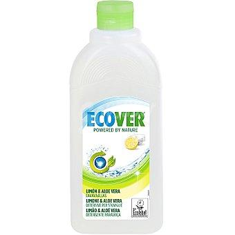 ECOVER Lavavajillas a mano concentrado limón & aloe vera ecológico Botella 500 ml