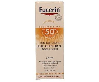 Eucerin Protección solar diaria para pieles grasas y/o con tendencia acnéica con factor protección 50+ (muy alta) 50 ml