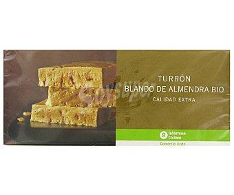 Intermón Oxfam Turrón blando ecológico 200 gramos