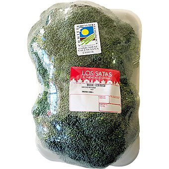 Satas Broculi ecológico peso aproximado Bandeja 700 g neto escurrido