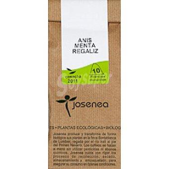 JOSENEA Infusión anís-menta Paquete 20 g