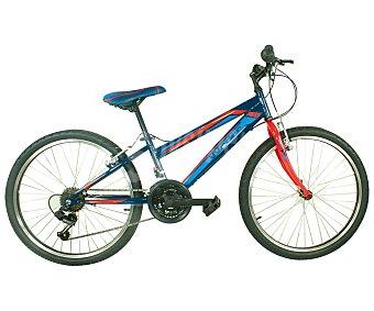WADER Bicicleta Junior de Montaña Chico, 18 Velocidades 1 Unidad