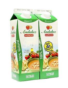 Hacendado Gazpacho andaluz (brick verde) 2 x 1 l