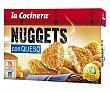Nuggets de pollo-queso Caja 350 g La Cocinera