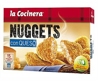 La Cocinera Nuggets de pollo-queso Caja 350 g