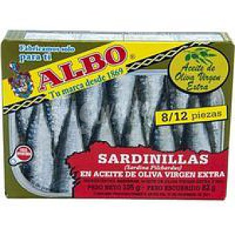 Albo Sardinilla aceite virgen 105 g