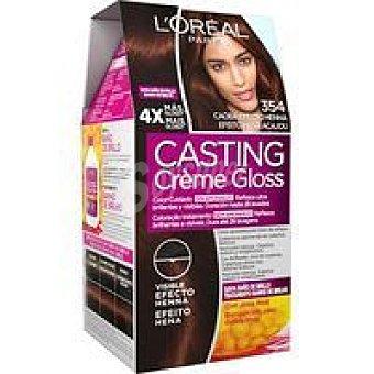 Casting Crème Gloss L'Oréal Paris Tinte Henna N.3.54 Caja 1 unid
