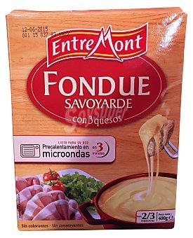 Entremont Queso fondue Caja de 400 g
