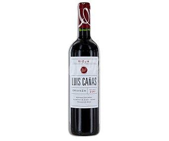 Luis Cañas Vino tinto crianza con denominación de origen Rioja Botella de 75 centilitros