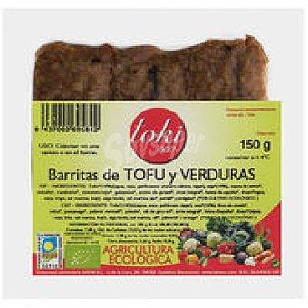 Toki Eco Barritas tofú de verudas Bandeja 150 g
