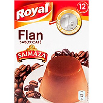 Royal Flan sabor café Caja 80 g