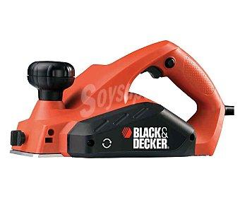 Black&Decker Cepillo eléctrico de 650 Watios, con ranura en V para trabajar las esquinas 1 unidad