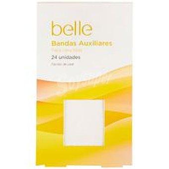 Belle Bandas depilatorias auxiliares papel Caja 24 unid