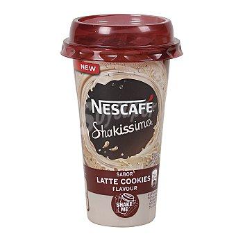 Nescafé Shakissimo Café con leche sabor a galletas de chocolate Vaso 190 ml