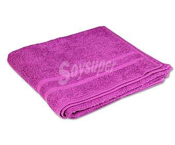 Productos Económicos Alcampo Toalla 100% algodón color morado para lavabo, densidad de 360 gramos/m², 50x90 centímetros 1 unidad