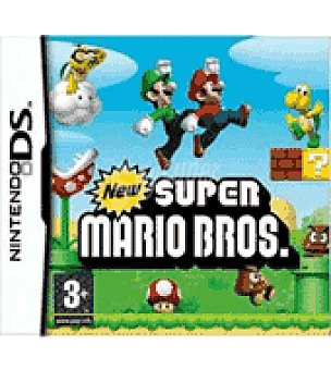 Nintendo Juego ds new super mario bros nintendo