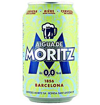 Moritz Cerv.agua DE 0,0 Lata 33 cl
