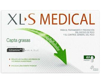 Xls medical Complemento alimenticio capta grasas, para el tratamiento y prevención del exceso de peso 60c