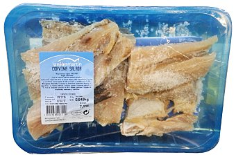 Unión Martín Corvina seca salada Bandeja 800 g peso aproximado