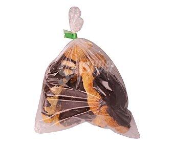 Bolleria Croissant (masa hojaldrada con margarina y cobertura sabor chocolate). Formato 4 Unidades