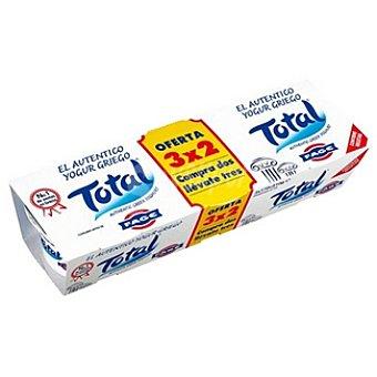 TOTAL Yogur griego natural 10% m. g Pack 3 envases 170 g